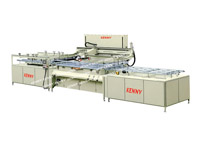 FULLY-AUTOMATIC GLASS SCREEN PRINTING MACHINE<br>TPM-G/A Serial