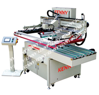 3/4-AUTOMATIC SCREEN PRINTING MACHINE WITH THE GRIPPER SYSTEM  TPM-D/M Series